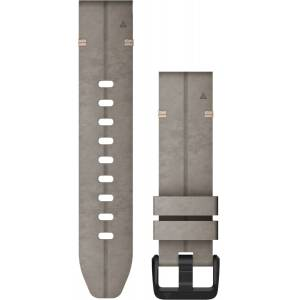 Garmin Quickfit 20mm mokkanahkaranneke 010-12876-00  - unisex