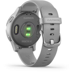 Garmin Vivoactive 4S Powder Gray and Silver GPS-älykello 010-02172-02  - unisex