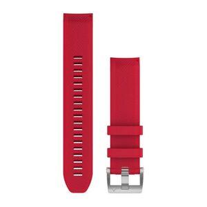 Garmin QuickFit 22mm silikoniranneke plasmapunainen 010-12738-17