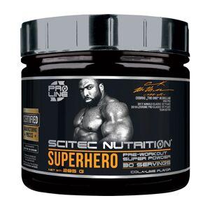 Scitec Nutrition Superhero Pre-Workout Cola-Lime 285 g latausjuoma