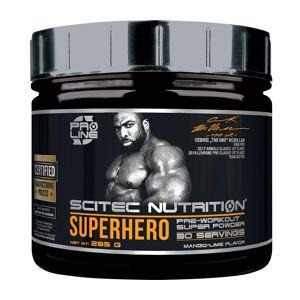 Scitec Nutrition Superhero Pre-Workout Mango-Lime 285 g latausjuoma