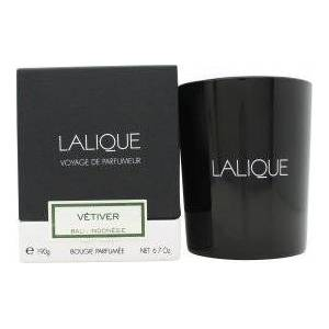 Lalique Candle 190g - Vetiver Bali
