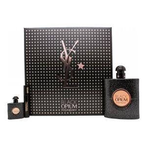 Yves Saint Laurent Black Opium Gift Set 90ml EDP + 7.5ml EDP + 2ml Mascara False Lashes Effect