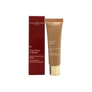 Clarins Pore Perfecting Matifying Foundation 30ml - 04 Nude Amber