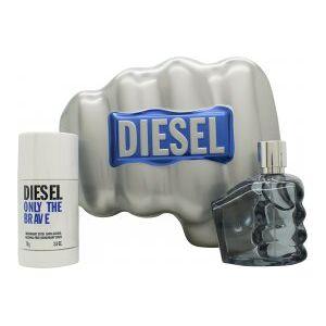 Diesel Only The Brave Gift Set 75ml EDT + 75g Deodorant Stick