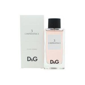 Dolce & Gabbana D&G 3 L'Imperatrice Eau De Toilette 100ml Suihke