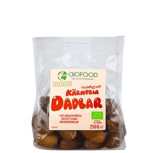 Biofood Dadlar Urkärnade, 250 g  - Size: One Size