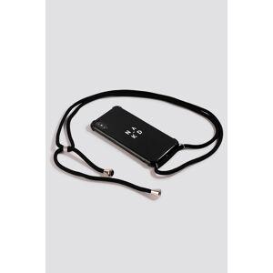 NA-KD Accessories Rope Band Phone Case - Black