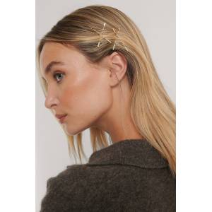 NA-KD Accessories Hiusneulat - Gold  - Size: One Size