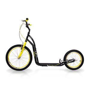 inSPORTline Sparkcykel Disparo, black/yellow, insPORTline