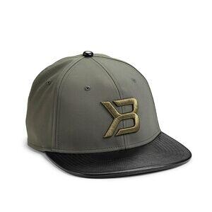Better Bodies Harlem Flatbill Cap, military green, Better Bodies
