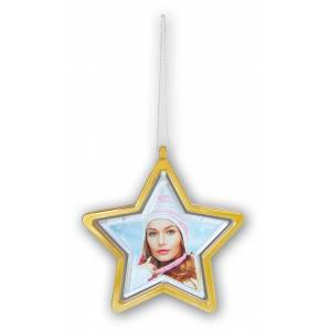 ZEP Joulukuusenkoriste Tähti Kullanvärinen