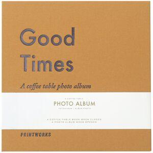 Printworks Good Times (S) - A Coffee Table Album (60 Mustaa sivua / 30 lehteä)