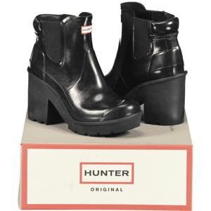 Hunter So Heel Chelsea W Outdoor BLACK (Sizes: 38)