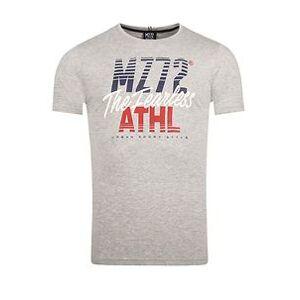 MZ72 Brand THE LINE T-PAITA - Harmaa