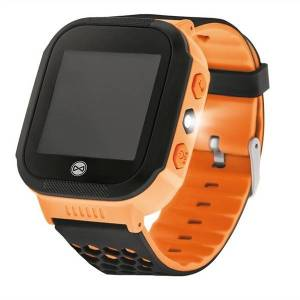 24hshop GPS Lasten kello - Find Me KW200 ( oranssi)