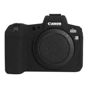 24hshop Silikonilaukku / kotelo Canon EOS R (Black)