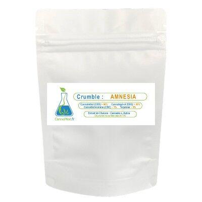 CannaMed.fr Crumble de CBD/CBG AMNESIA (500/1000 mg)