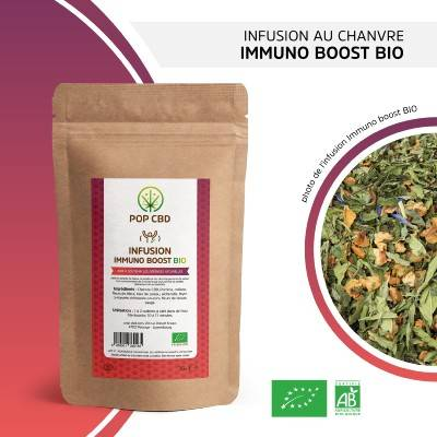 Pop CBD Infusion de Chanvre IMMUNO BOOST (Pop CBD)