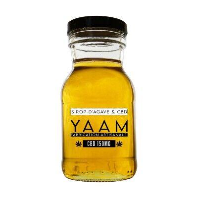 Yaam Sirop d'Agave BIO au CBD 150 mg (YAAM)