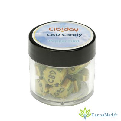 Cibiday Bonbons au CBD et à la Menthe de Cibiday
