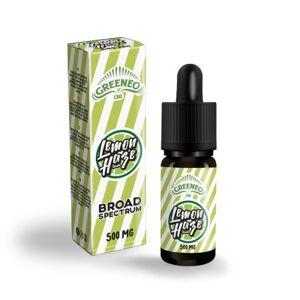 Greeneo E-liquide au CBD LEMON HAZE (Greeneo) - Publicité