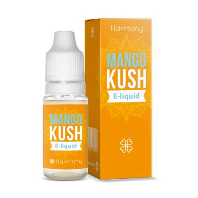 Harmony E-liquide au CBD (100 mg) et aux terpènes de cannabis Mango Kush (Harmony)