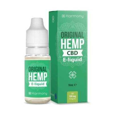 Harmony E-liquide CBD 600 mg au gout de Chanvre (Harmony)