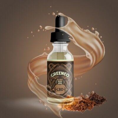 Greeneo E-liquide CBD 200 mg Blunt Puff au gout de Tabac (Greeneo)