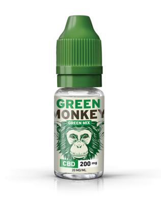 Green Monkey E-liquide CBD 200 mg Green Mix de Green Monkey (Savourea)