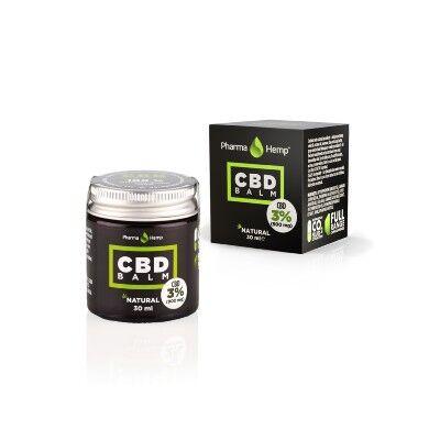 PharmaHemp Pot de 30 ml de Crème avec 3% de CBD (Pharmahemp)