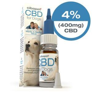Cibdol Huile de CBD 4% pour chiens (Cibapet) - Publicité