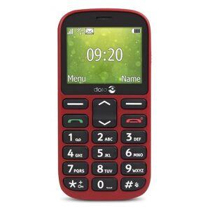 Doro Téléphone Mobile plat DORO 1361 - rouge