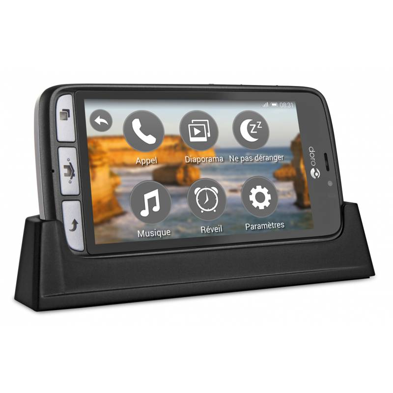 Doro Smartphone DORO 8031 Noir-Gris