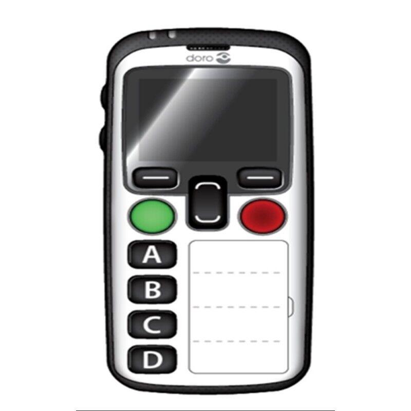 Doro Mobile DORO Secure 580,Blanc 4 touches memo, Géolocalisation