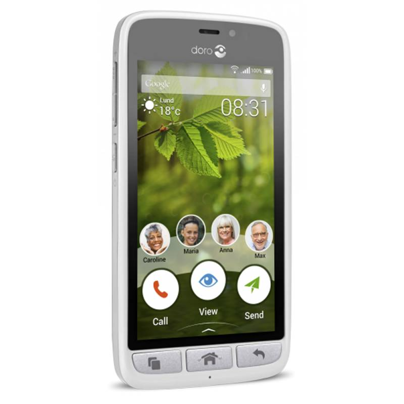 Doro Smartphone Doro 8031 Blanc/Argent