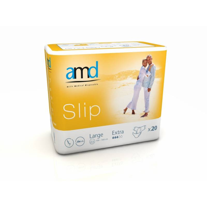 AMD - Slip Couches adulte - AMD Slip L Extra
