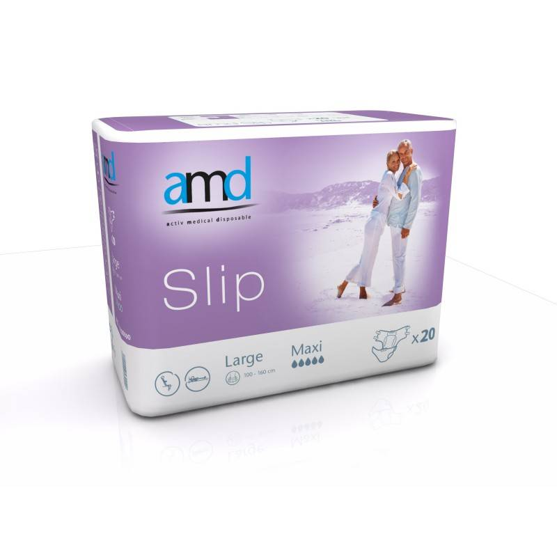 AMD - Slip Couches adulte - AMD Slip L Maxi