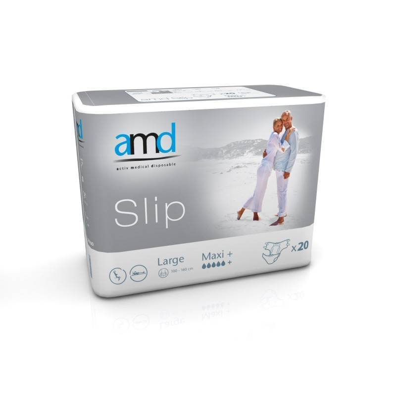 AMD - Slip Couches adulte - AMD Slip L Maxi +