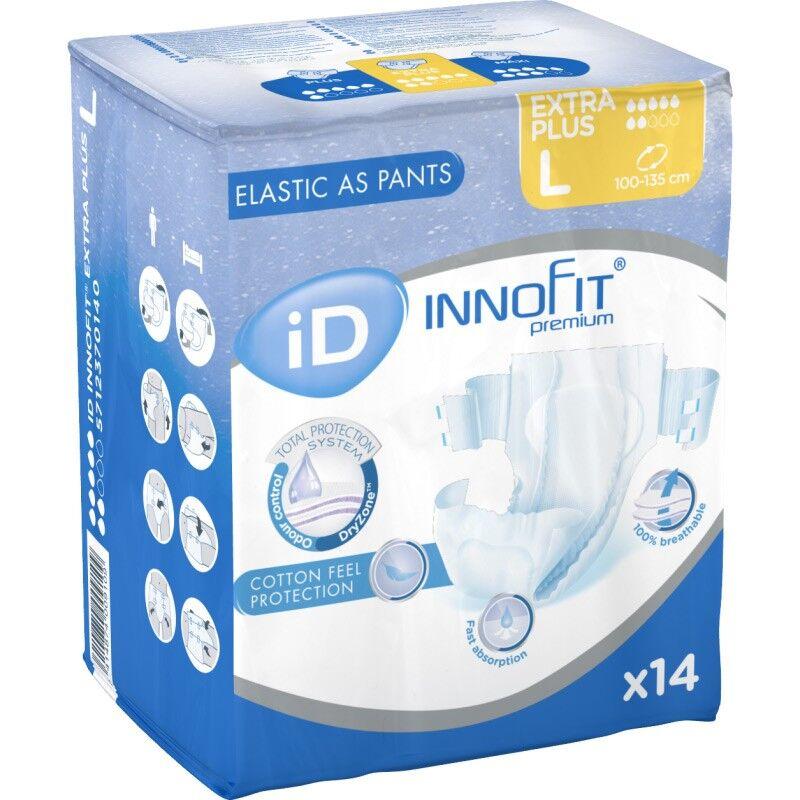 Ontex ID Innofit premium Couches adulte - iD Innofit Premium Extra Plus L