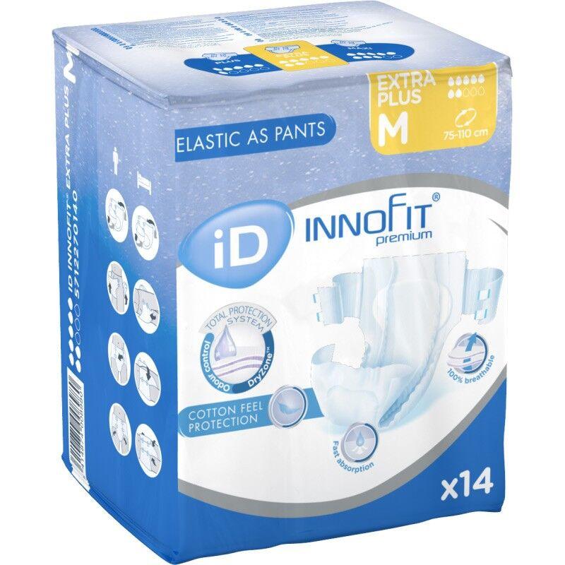 Ontex ID Innofit premium Couches adulte - iD Innofit Premium Extra Plus M