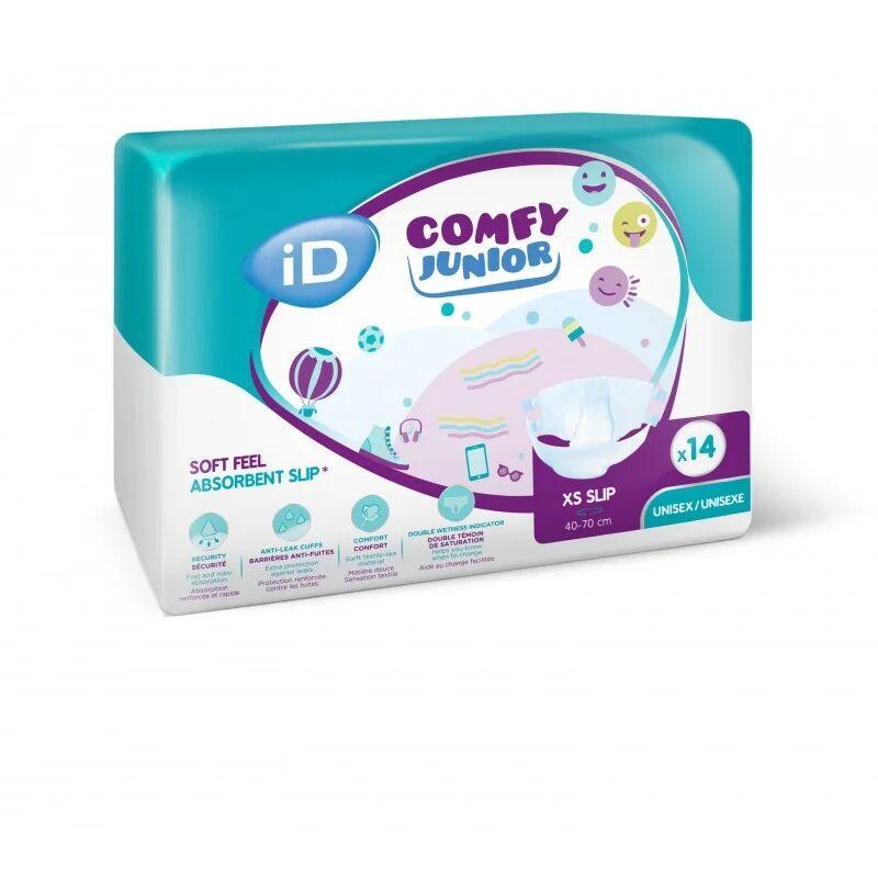 Ontex ID Comfy Junior Couches enfant - Ontex ID Comfy Junior Slip XS
