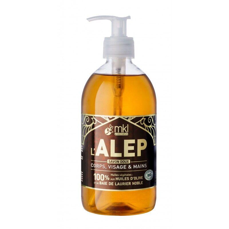 MKL Green nature MKL - Savon liquide d'Alep Bio - 500mL