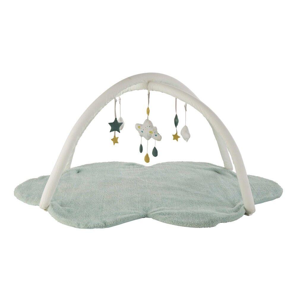 Maisons du Monde Tapis d'éveil bébé nuage vert D90