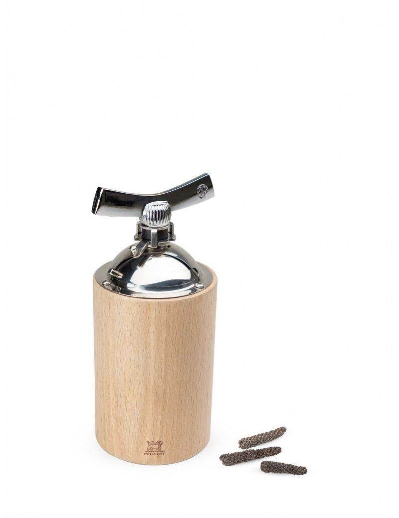 Peugeot Saveurs Moulin poivres longs et gros grains en bois naturel H16cm