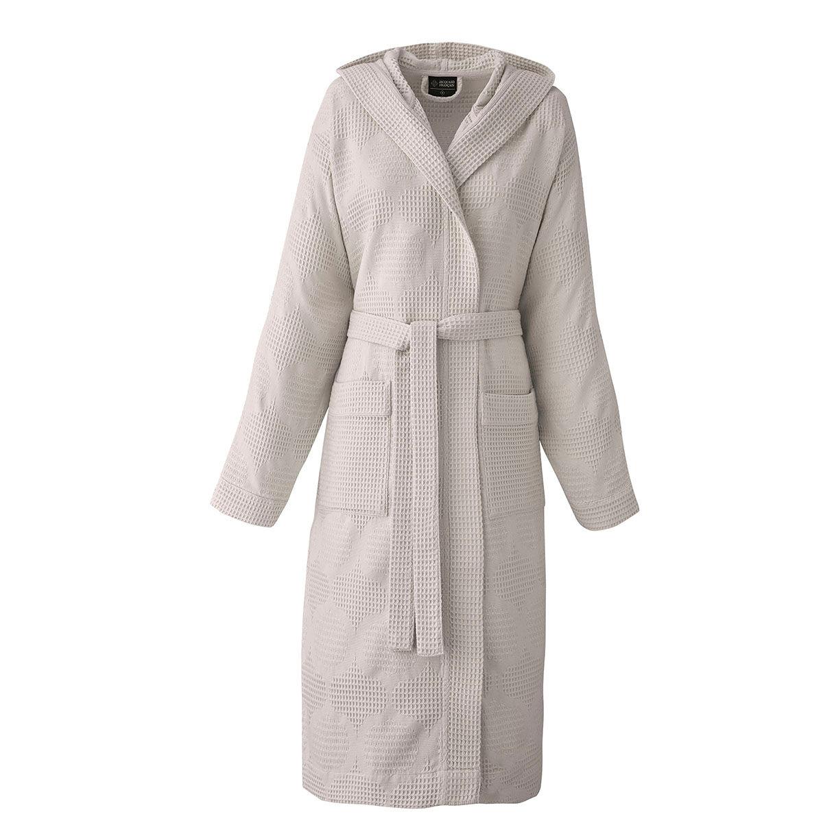 Le Jacquard Franais Peignoir en coton argile XL