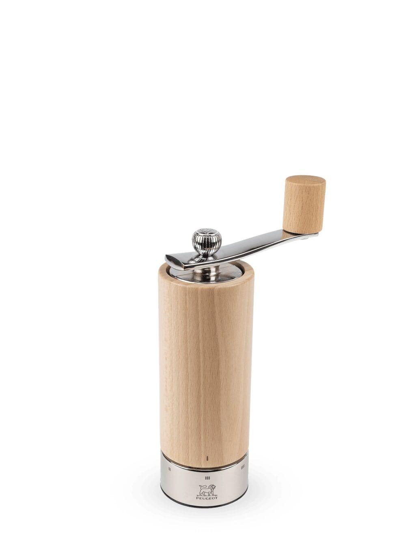 Peugeot Saveurs Moulin  sel  manivelle bois inox naturel u'Select H18cm