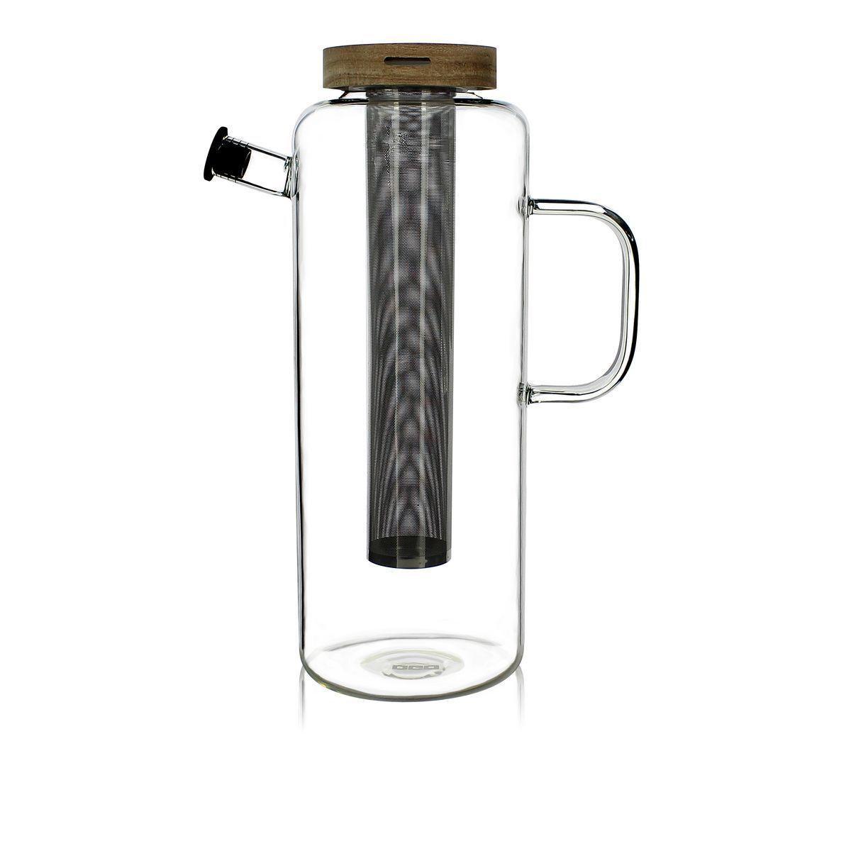 OGO Living Carafe infuseur en verre 1,5L