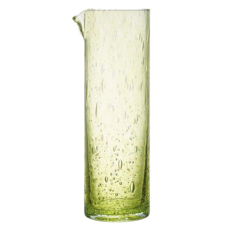 La Rochre Broc en verre vert