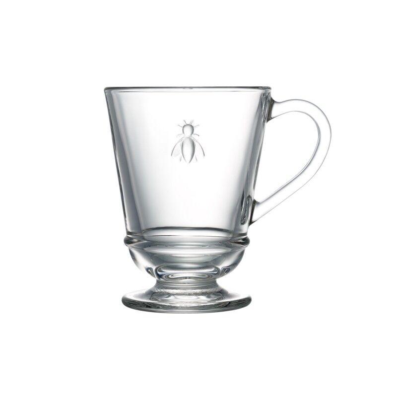 La Rochre Mug  en verre transparent - lot de 6